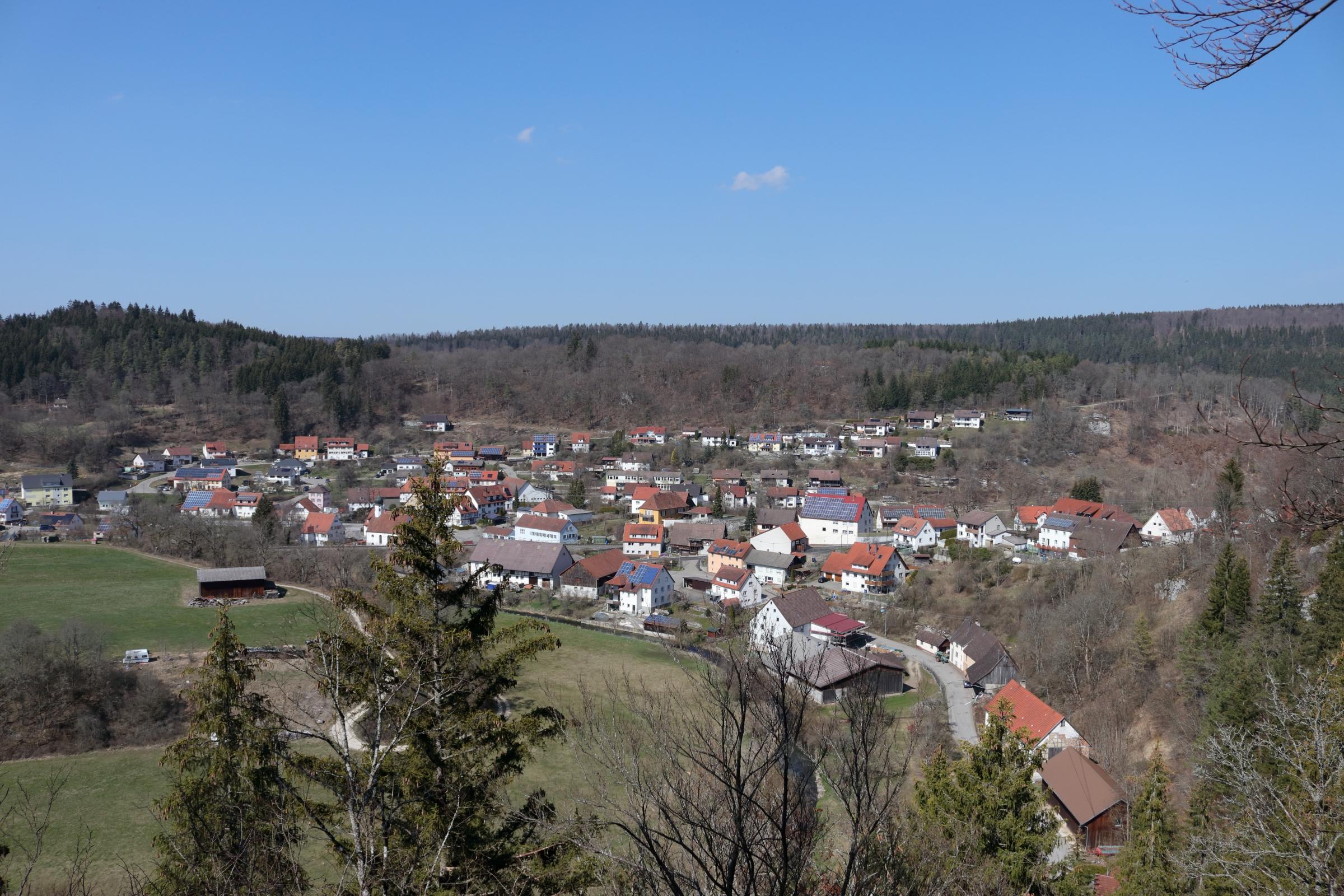 Storzingen - Im Tal eines Nebenfluss der Donau