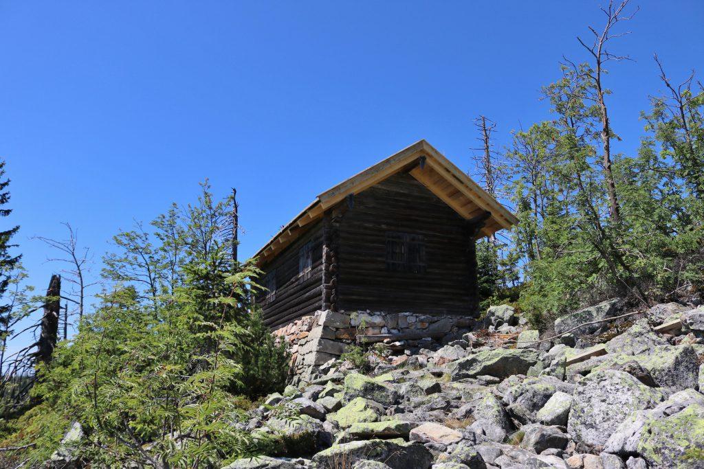 Hütte am Steinfleckberg
