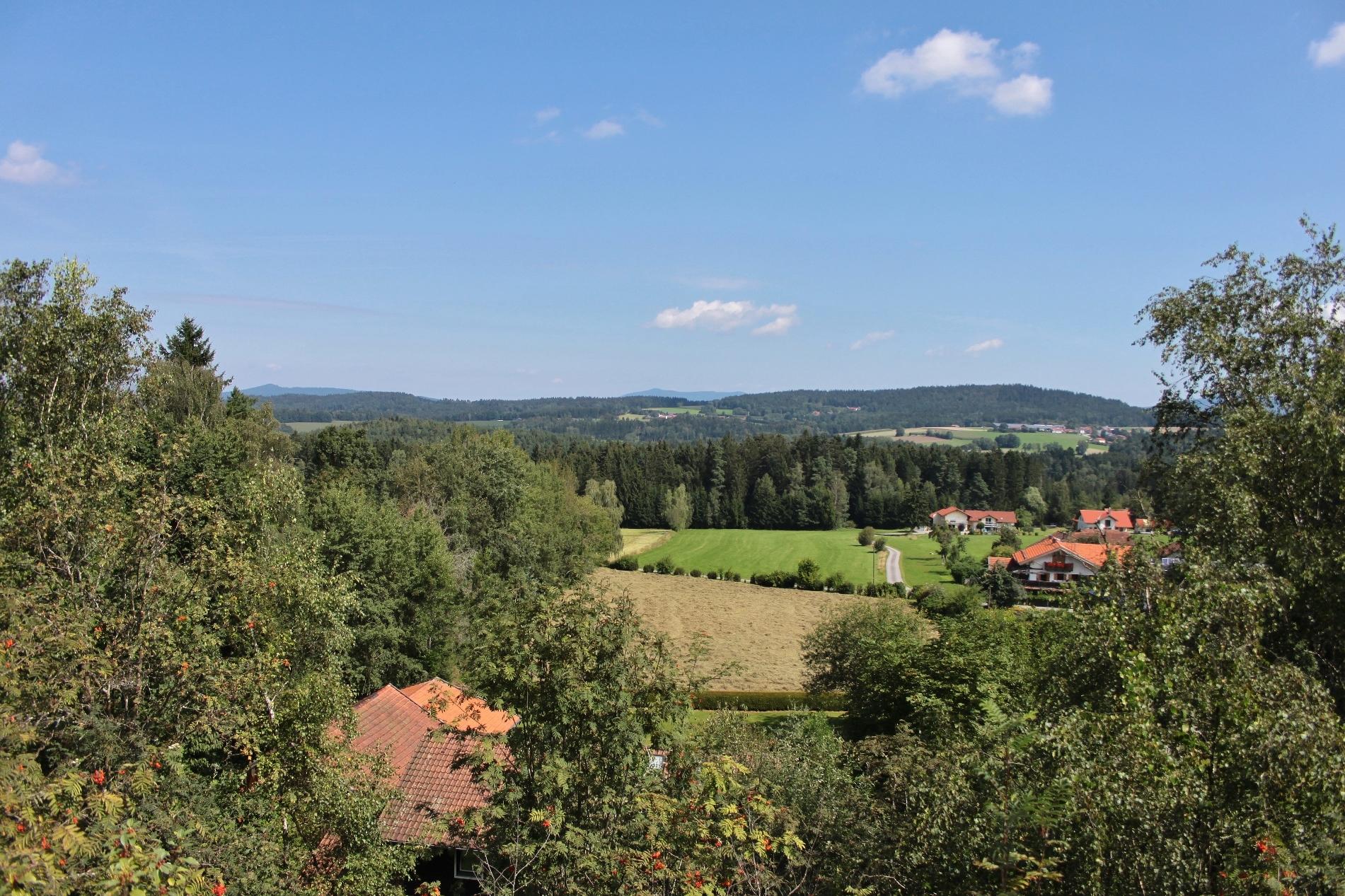 Blick vom Moosbacher Pfahl