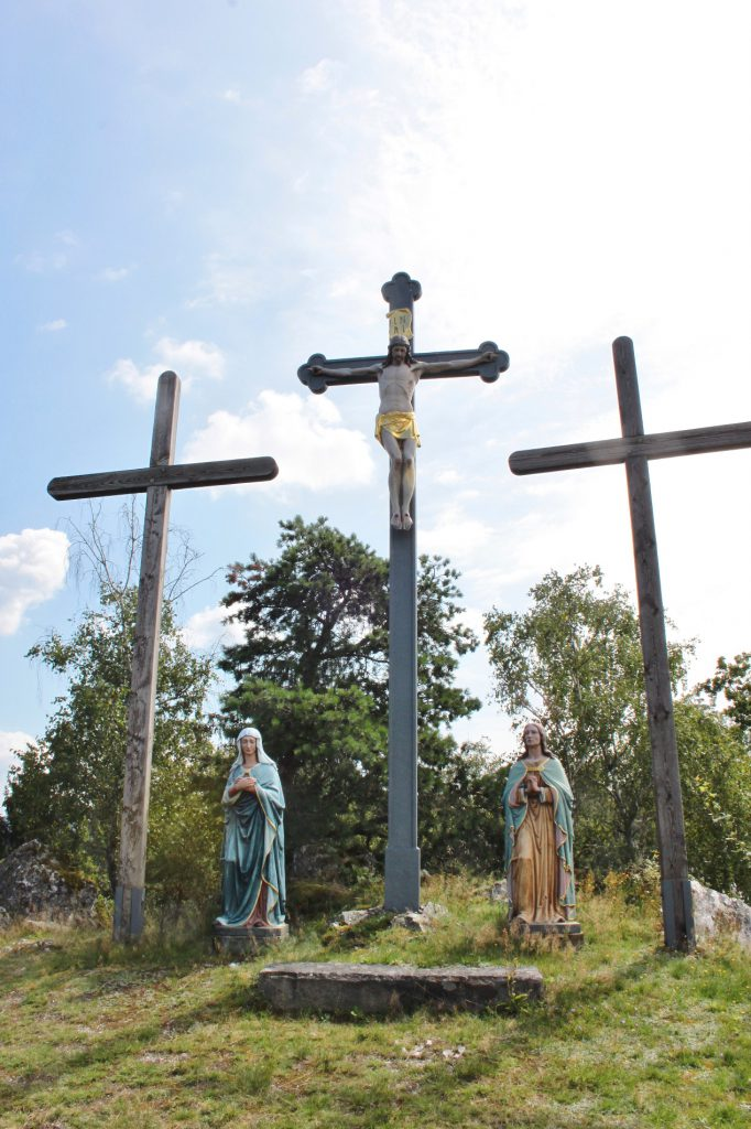 Kreuzigungsgruppe am Moosbacher Pfahl